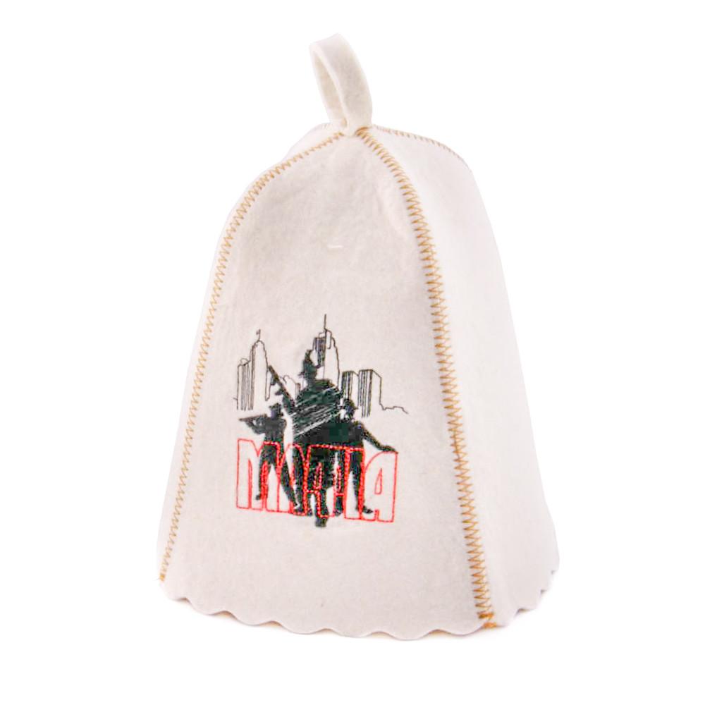 Шапка для сауны с вышивкой 'Мафия', Saunapro