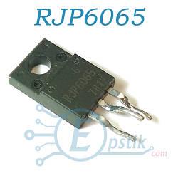 RJP6065, IGBT транзистор N Channel, 630В 40А, 30Вт, TO220FL