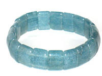 Браслет камень Аквамарин