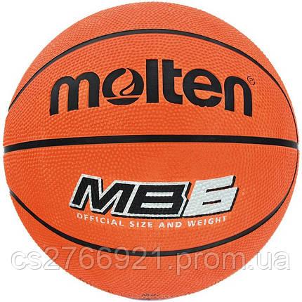 Мяч баскетбольный Molten MB 6, фото 2