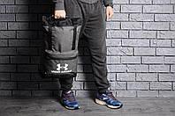 Спортивный рюкзак, туристический мужской / серый, фото 1