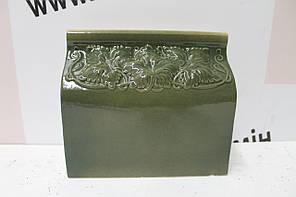 Цоколь прямой «Виноград» оливковый, фото 2