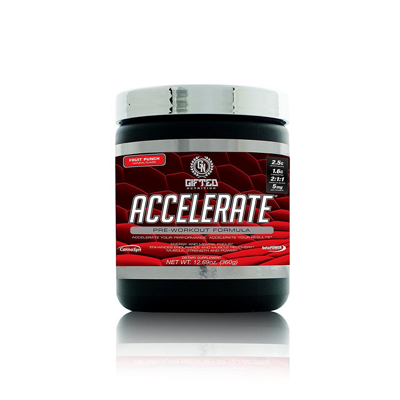Предтренировочный комплекс Gifted Nutrition Accelerate 360 g