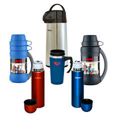 Термосы, кружки, чашки, бутылки и подарочные наборы