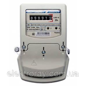 Счетчик Энергомера ЦЭ 6807Б-U 5-60А однофазный для электроэнергии, фото 2