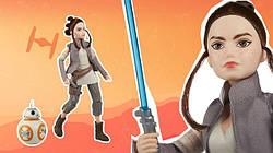 Новий комплект: лялька Рей з дроидом BB-8