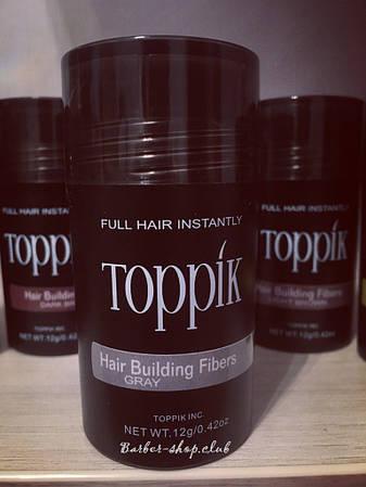 Загуститель для редких волос Toppik 12 гр. Gray