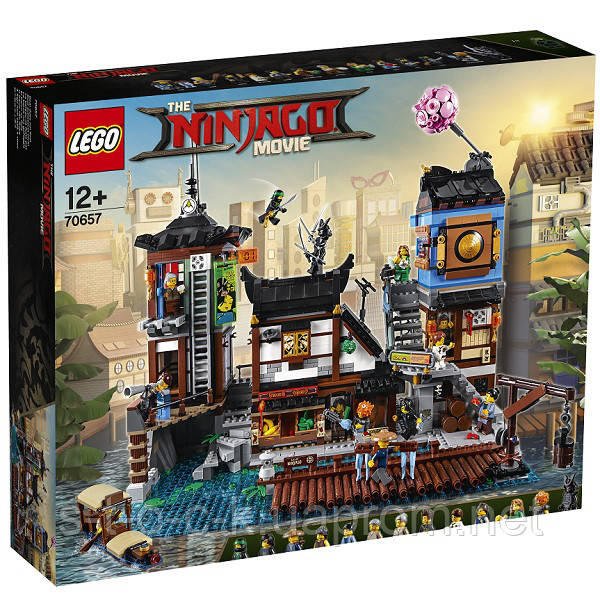 "Lego 70657 Игрушка Ниндзяго ""Порт НИНДЗЯГО Сити"""