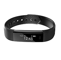 Фитнес-браслет Smart Band id115 Черный (FT115BV001)
