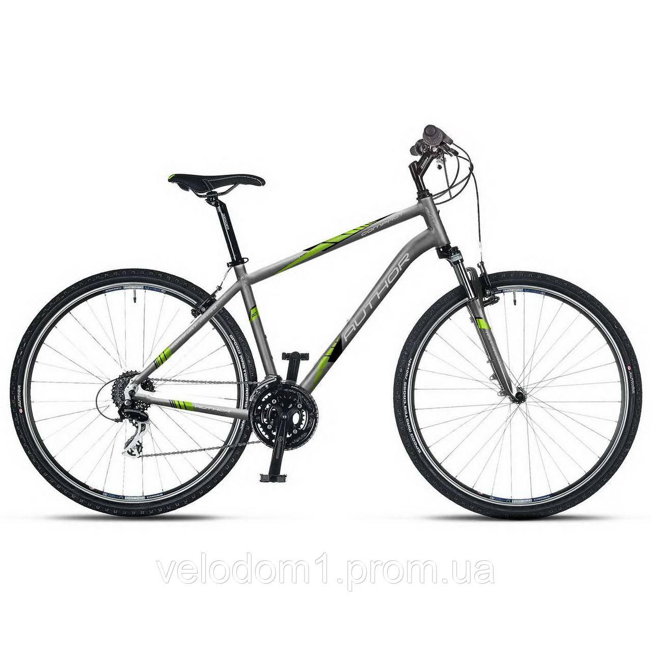 "Велосипед Author 28"" Compact 20 серый (2018)"