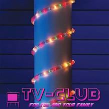Разноцветная новогодняя гирлянда Дюралайт multi 10 метров 4 жильный, фото 3