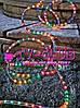 Разноцветная новогодняя гирлянда Дюралайт multi 10 метров 4 жильный, фото 5