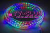 Разноцветная новогодняя гирлянда Дюралайт multi 10 метров 4 жильный, фото 6