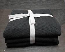 Набор кухонных полотенец 3шт.  50*70 серый