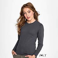 Женская футболка с длинным рукавом IMPERIAL LSL W, Франция, 100%, Ringspun хлопок - плотные 190 г/м2