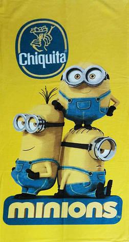 Полотенце пляжное Minions Chiquita, фото 2