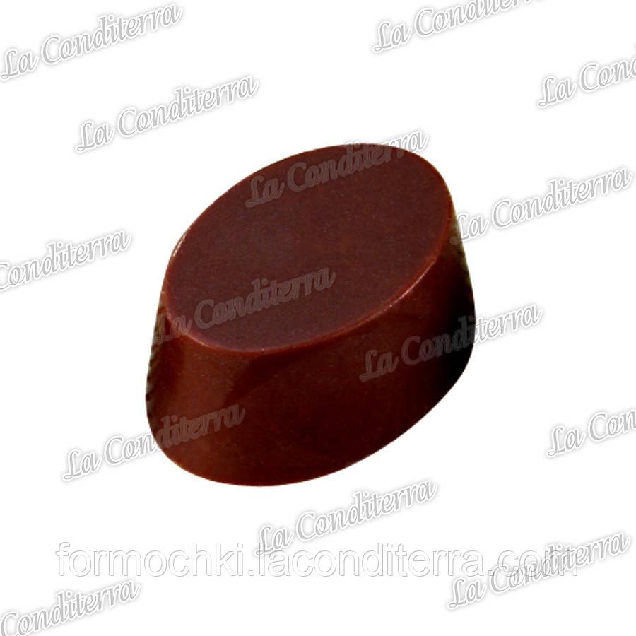 Полікарбонатна форма для шоколадних цукерок ОВАЛЬНА MARTELLATO MA1074