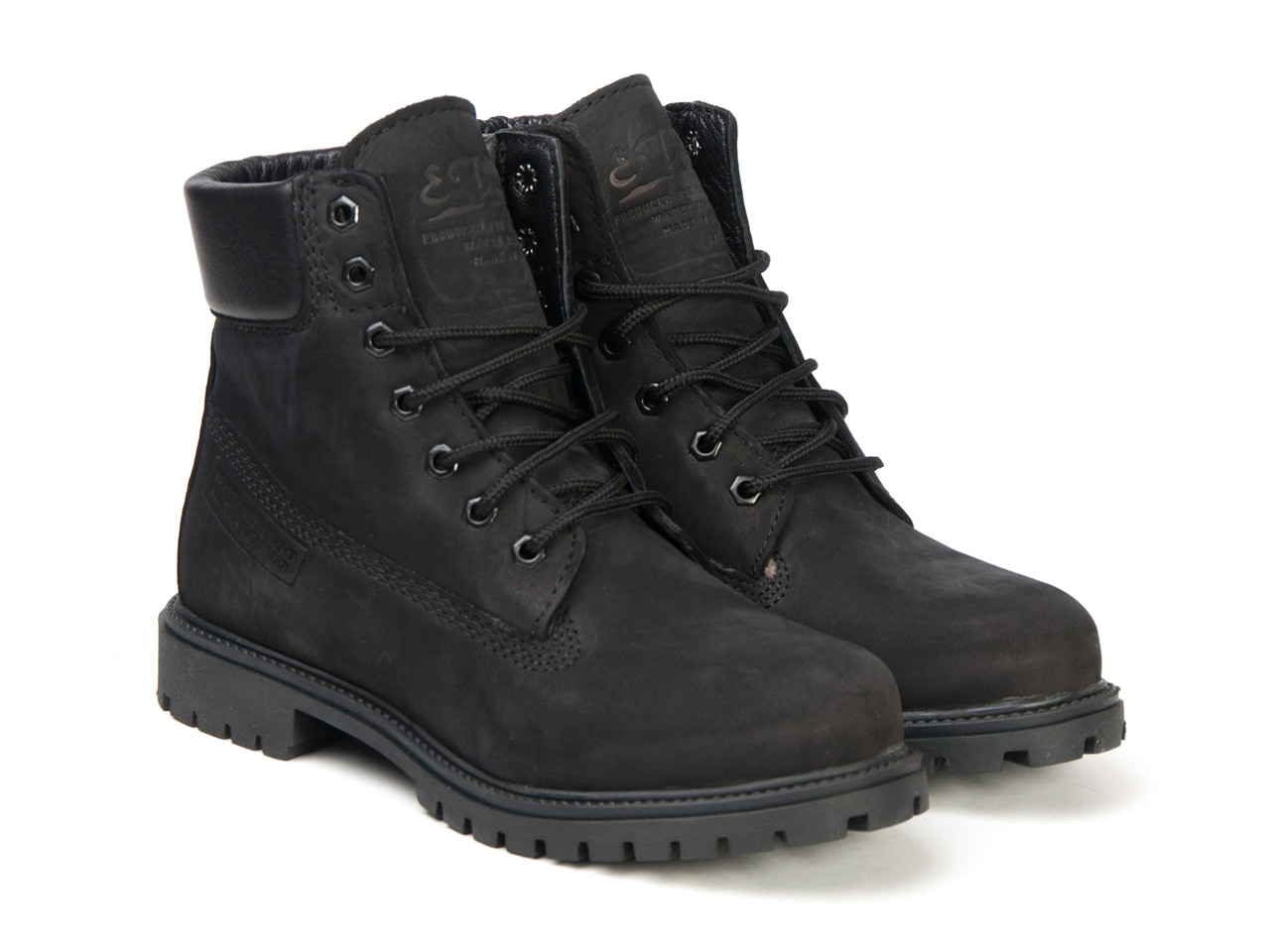 Ботинки Etor 9916-2298-2 черные