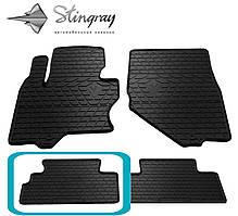 Infiniti QX70 2013- Задний левый коврик Черный в салон