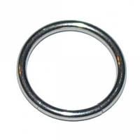Кольцо-сегмент (хирургическая сталь), Размер кольца Кольцо-сегмент (хир. сталь, цвет стальной(ухо,нос,бровь,губа,смайл) ∅12мм,толщина 1мм (r-014)
