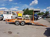 Прицеп для перевозки катка 4м х 1,95м. Без тормозов. , фото 1