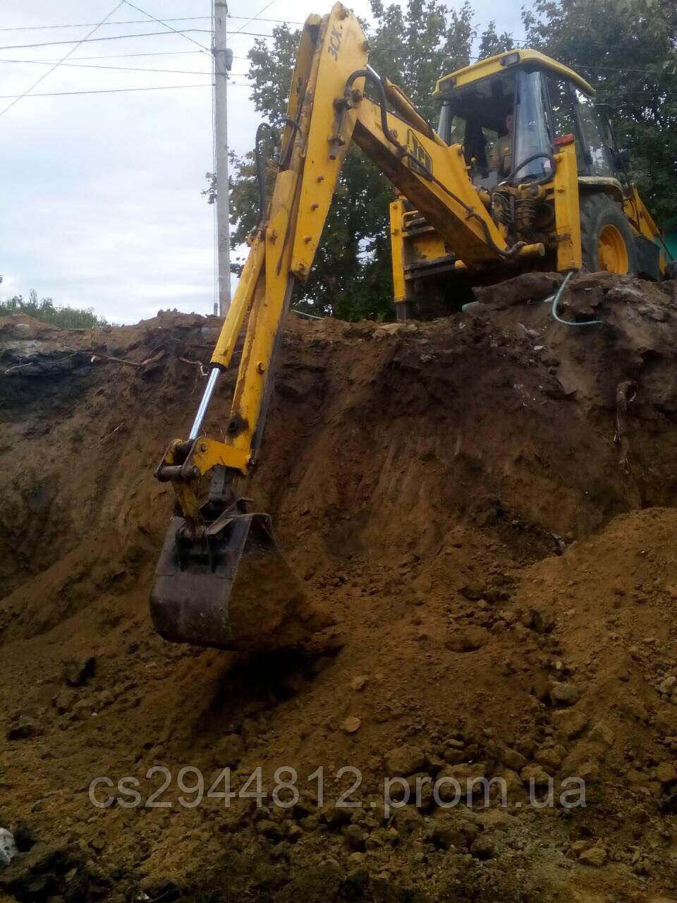 Услуги экскаватора JCB 3C Одесса