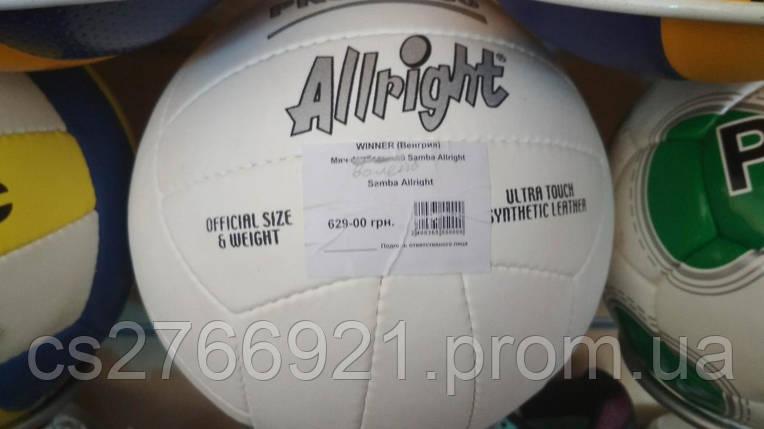 Мяч волейбольный Samba Allright №5, фото 2