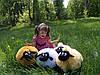 Мягкая игрушка баранчик Шон 50 см, кремовый, фото 2