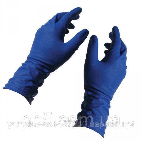 Перчатки нитриловые текстурированные неопудренные XS, Santex (Сантекс) 200 шт.