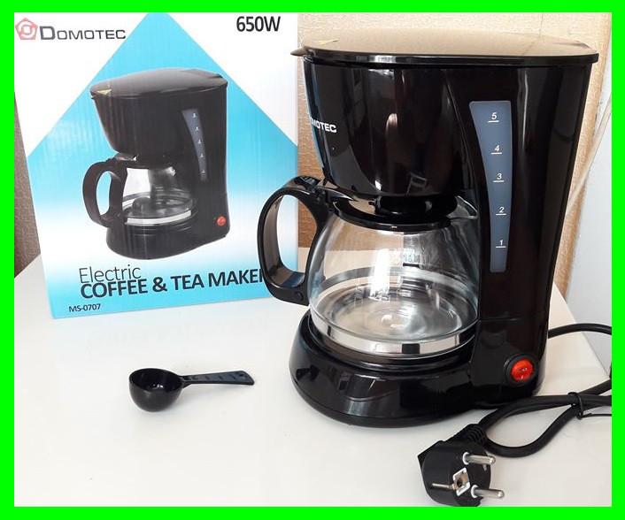 Электро Кофеварка DOMOTEC (чай/кофе) - Видео Обзор