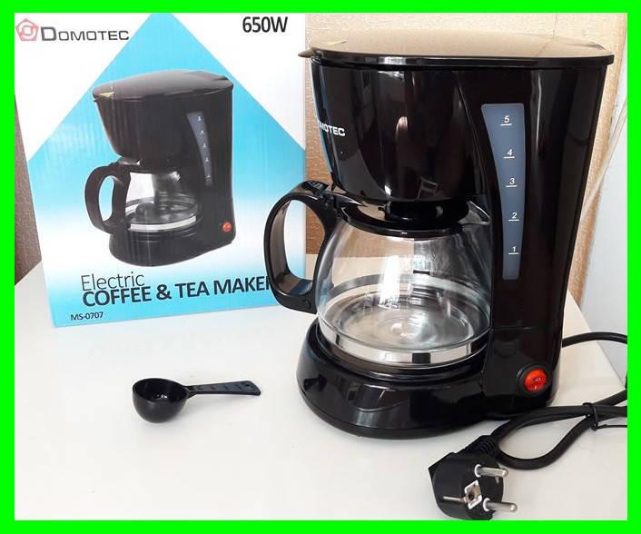 Электро Кофеварка DOMOTEC (чай/кофе) - Видео Обзор, фото 2