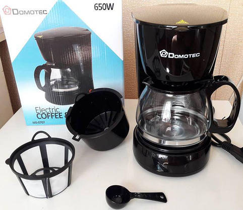 Электро Кофеварка DOMOTEC (чай/кофе) - Видео Обзор, фото 3