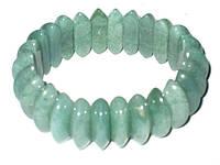 Зеленый браслет нефрит