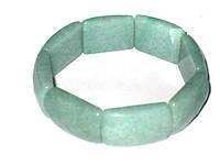 Браслет из камня нефрит