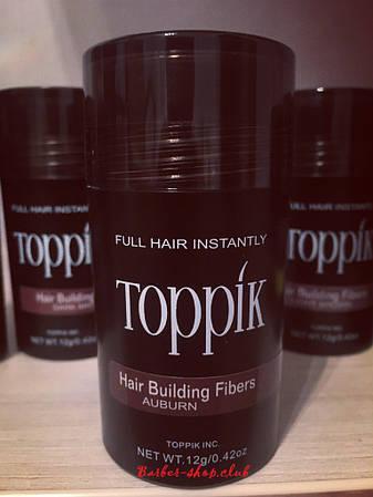 Загуститель для редких волос Toppik 12 гр. Auburn (рыжий)
