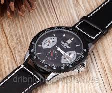 Мужские часы Winner черный (Код 05)