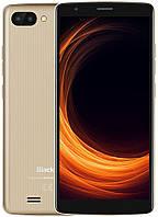 "Смартфон Blackview A20 Gold 1/8Gb, 5+0.3/2Мп, 2sim, 3000 мАч, MT6580M, 5.5"" IPS, 4 ядра, GPS, 3G, фото 1"