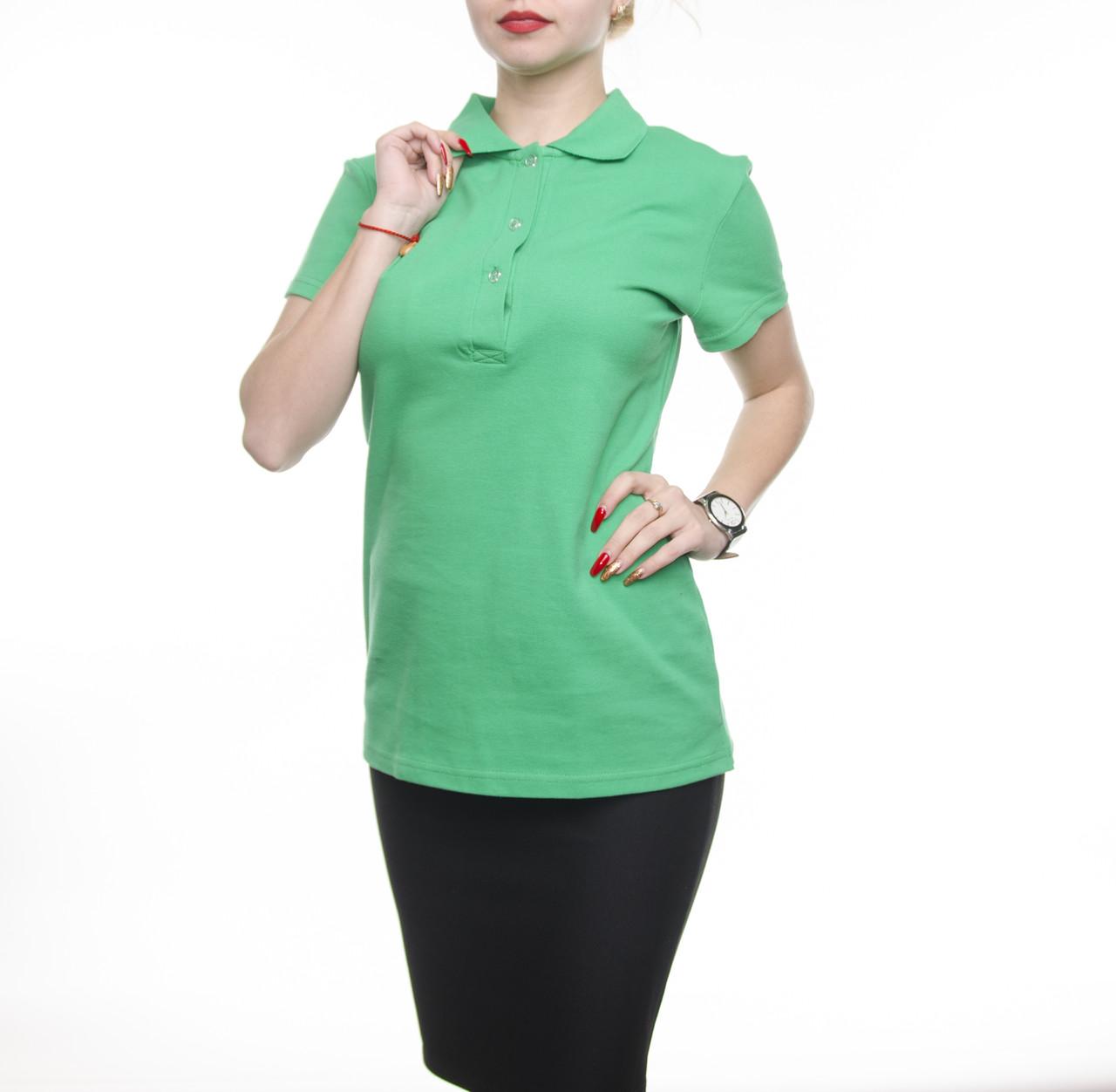 Bono Женская футболка Поло зеленый 400156