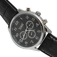 Мужские часы JARAGAR(ярагар) Elite. Черные