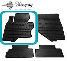 Infiniti QX70 2013- Водительский коврик Черный в салон