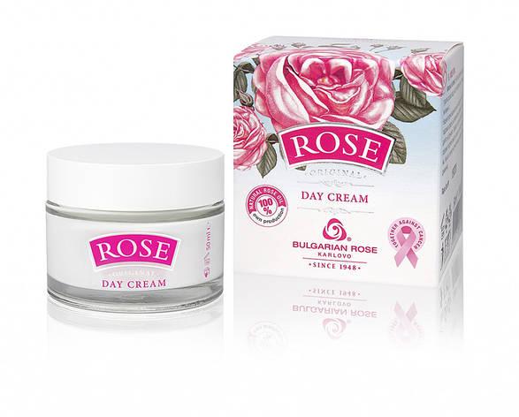 Денний крем для обличчя Болгарська Троянда Rose Original 50 мл, фото 2