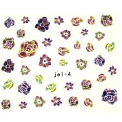 KATTi Наклейки водные JEL 04 цветы бутон