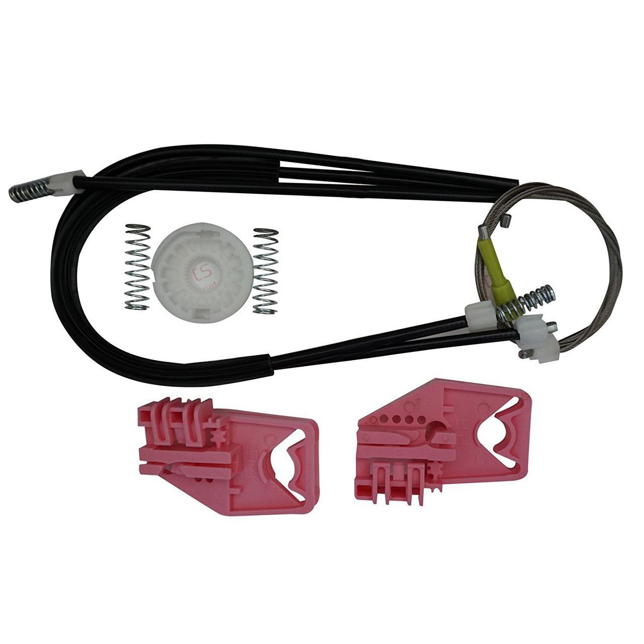 Ремкомплект стеклоподъемника Skoda Superb 2 2008-2018 передней левой двери