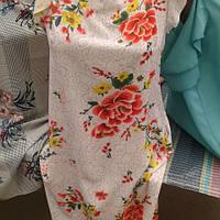 Летнее платье женское с рюшами  (44-54) , доставка по Украине