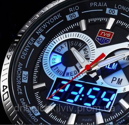 Мужские водонепроницаемые часы TVG 468, фото 1