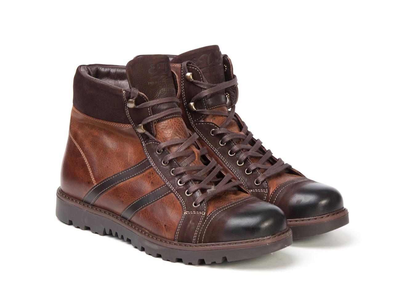 Ботинки Etor 8503-4505 коричневые