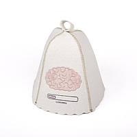 Шапка для сауны с вышивкой 'Вынос мозга', Saunapro