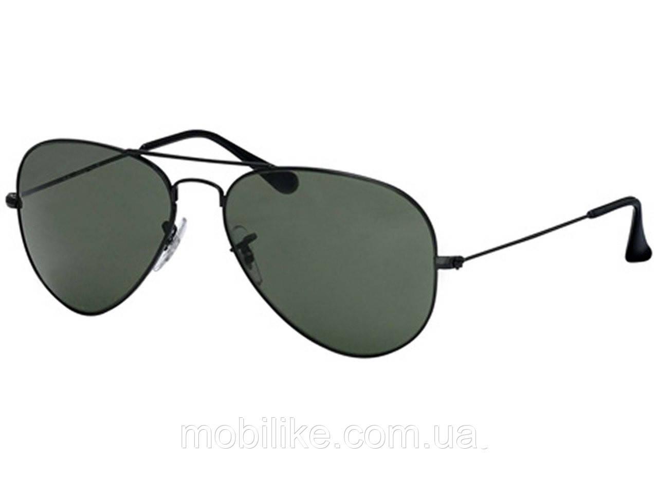 Солнцезащитные очки Ray Ban Aviator (Black Classic)(КОПИЯ)