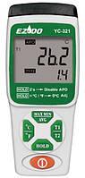 YC-321 Цифровий термометр з двома термопарами