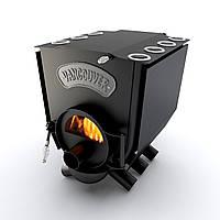 Печь варочная со стеклом тип 01 (260м.куб)  – Vancouver Lux. Булерьян со стеклом тип 01. Бесплатная доставка